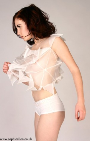 nikki goldup. transparent top 2009